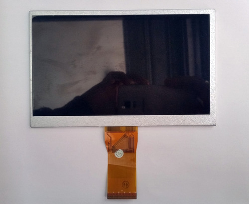 tela display lcd tablet dl pis-t71 l342 lcd087 7 polegadas