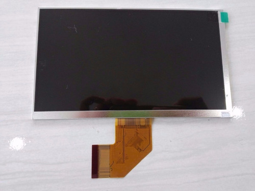 tela display lcd tablet multilaser m7s quad core flex curva