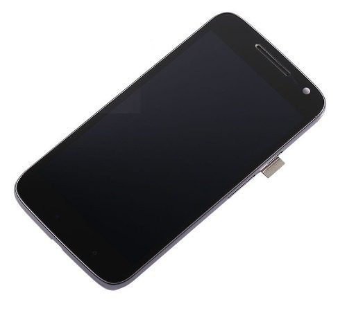 tela display lcd + touch + aro moto g4 play dtv xt1603 1600