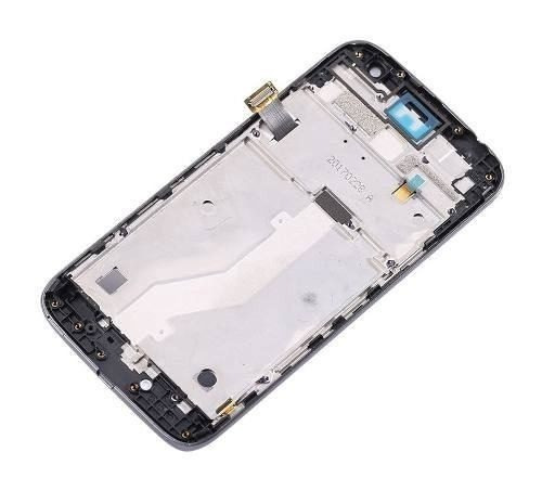 tela display lcd + touch + aro moto g4 play dtv xt1603 1600