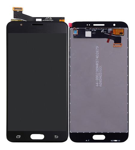 tela display lcd touch galaxy j7 prime g610 com brilho preto