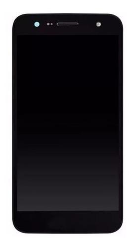 tela display lcd touch lg k10 power m320tv m320 frontal completa tela de imagem + touch com aro