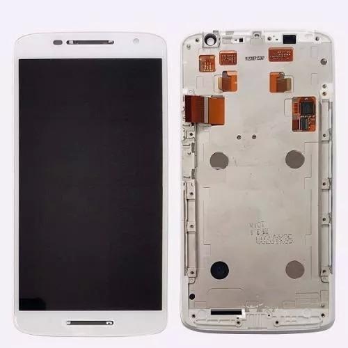 tela display lcd touch moto x play xt1563 xt1562 orig c/ aro