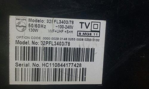 tela display tv lcd lc320wxn (sa)(b1) tv philips 32pfl3403