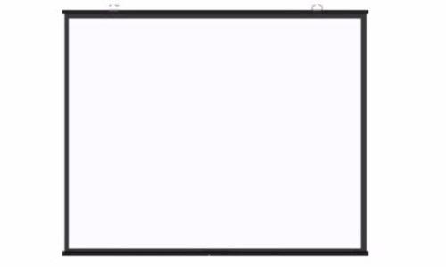 tela elétrica 100v 2,10 x 1,50 cm wide branca + controle