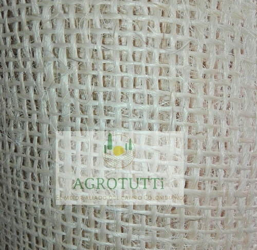 tela fique costal natural decoración secado café cacao metro