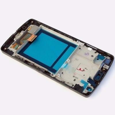 tela frontal displaylcd + touch + aro lg google nexus 5 d820