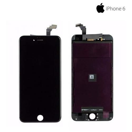 tela frontal touch display apple iphone 6 preto/branco