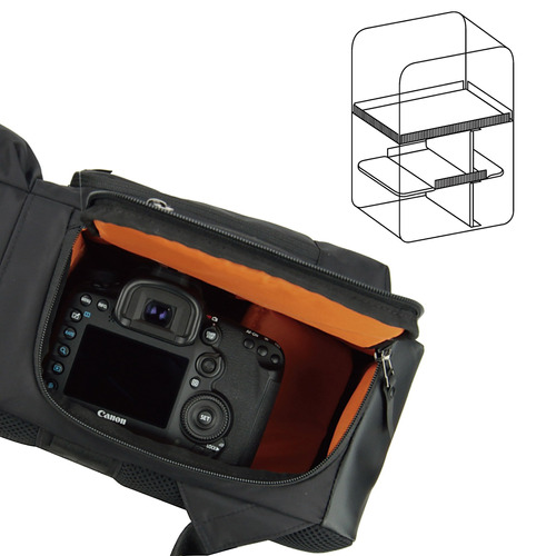 tela fuerte , ligero, negro, a hakuba, mochila a cámara y c