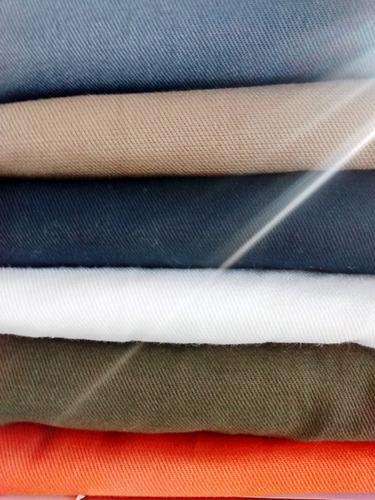 tela gabardina liviana 6 oz 1,60 de ancho -por metro o rollo