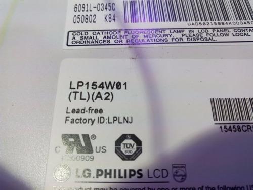 tela lcd 15,4 polegadas modelo: lp154w01 toshiba satélite
