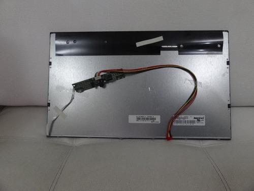 tela lcd 18.5 pol p/ tv innolux mt185gw01 v.4 com inverter