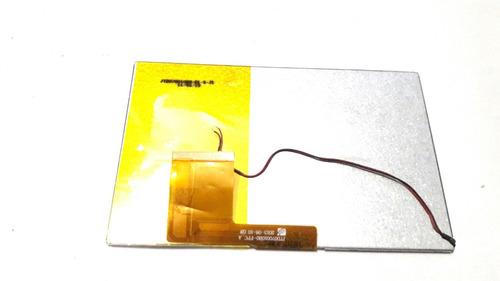 tela lcd 7  para tablet tb 50/100/55/5100 lenoxx - original