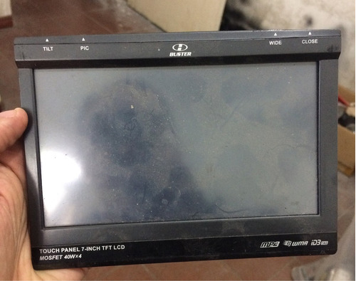 tela lcd do dvd hbuster 9500