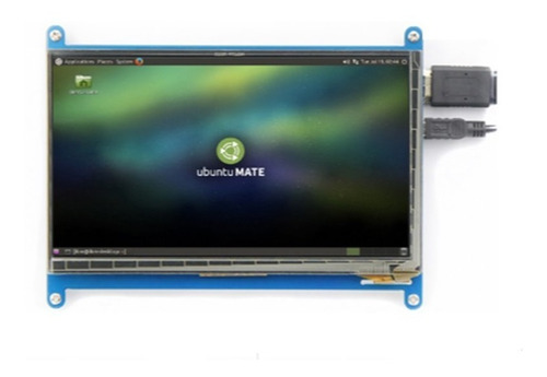 tela lcd hdmi touch screen 7 pol 1024x600  raspberry pi