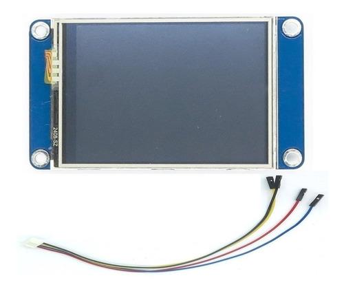 tela lcd nextion 2.4 tft hmi 320x240 touch arduino original