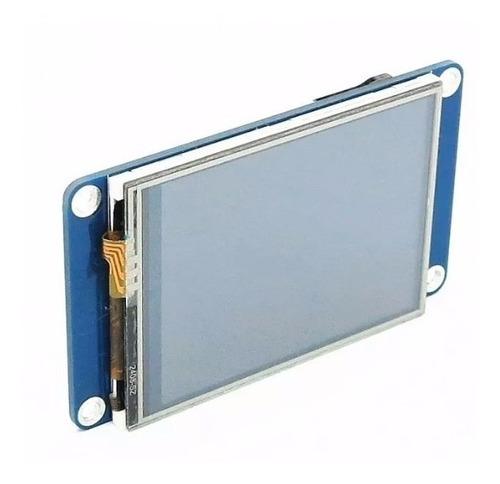 tela lcd nextion 2.4 tft hmi 320x240 touch screen arduino