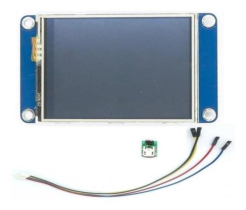 tela lcd nextion 2.8 tft hmi 320x240 touch para arduino