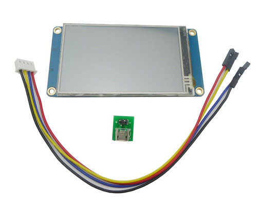 tela lcd nextion 3.2 tft 400x240 touch serial uart original