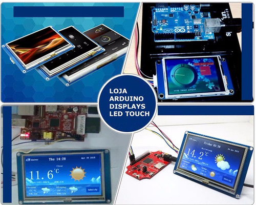tela lcd nextion 3.5 ihm led touch arduino pic clp (4009)
