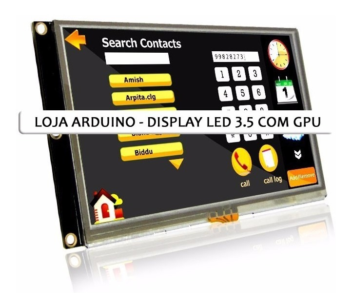 Tela Lcd Nextion 3 5 Ihm Led Touch Arduino Pic Clp (4009)