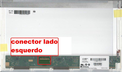 tela led 14.0 notebook lp140wh1 tl a3 40 pinos