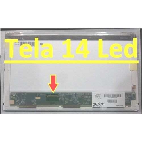tela led   ltn140at07-l01