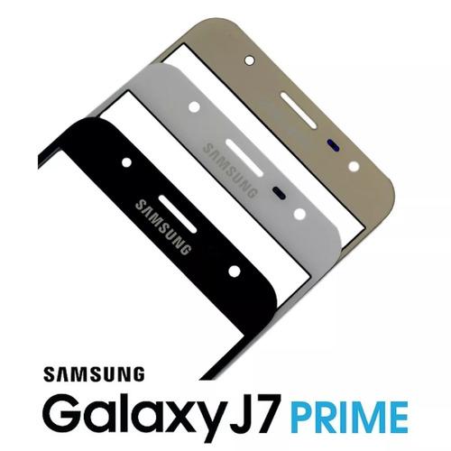 tela lente de vidro s/ touch galaxy j7 prime g610m preto