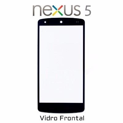 tela lente vidro sem touch google nexus 5 lg d821 d820 + 3m