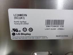 tela lg  lcd lc260exn - sca1