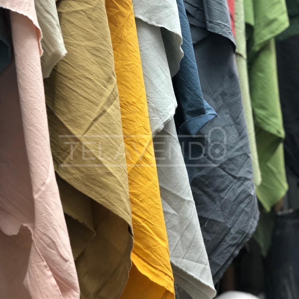 sitio web para descuento nuevo diseño al por mayor online Tela Lienzo Colores Lavado Y Teñido! Amplio Colorido! 100% Algodón
