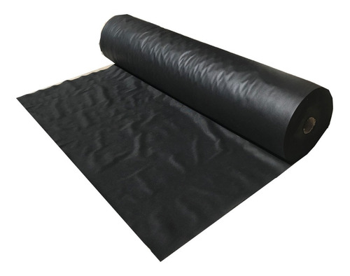 tela lona pp gruesa negro ancho 160cm x 10 metros lineales