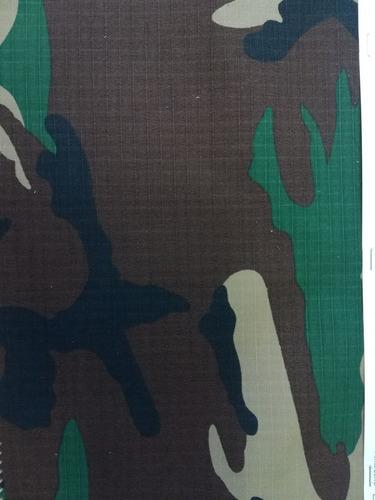 tela militar camuflaje 150 x 50