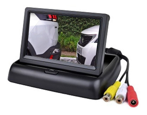 tela monitor veicular 4.3 vídeo lcd+ camera ré*