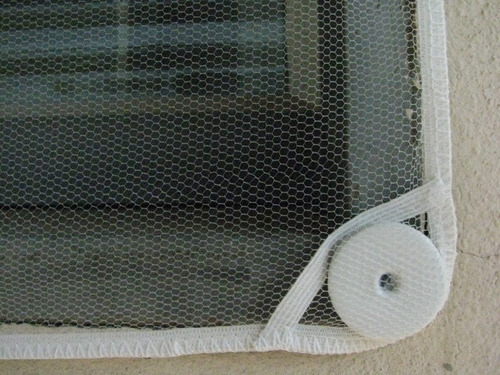tela mosqueteira anti-inseto para janelas e portas - yomura