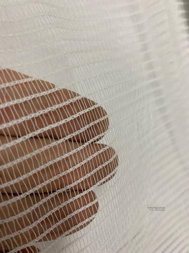 tela mosquiteira branca - 3 metros x 10 metros