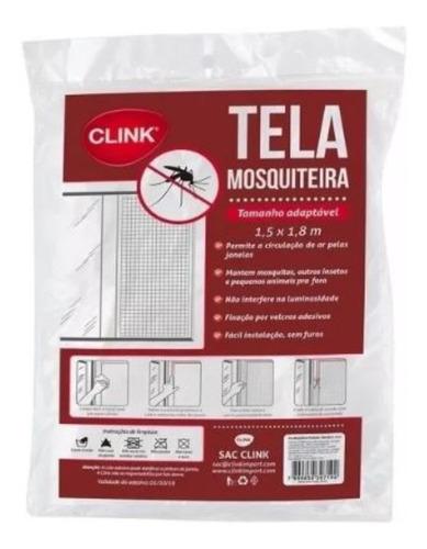 tela mosquiteira em poliéster p/janelas inseto adesivo clink