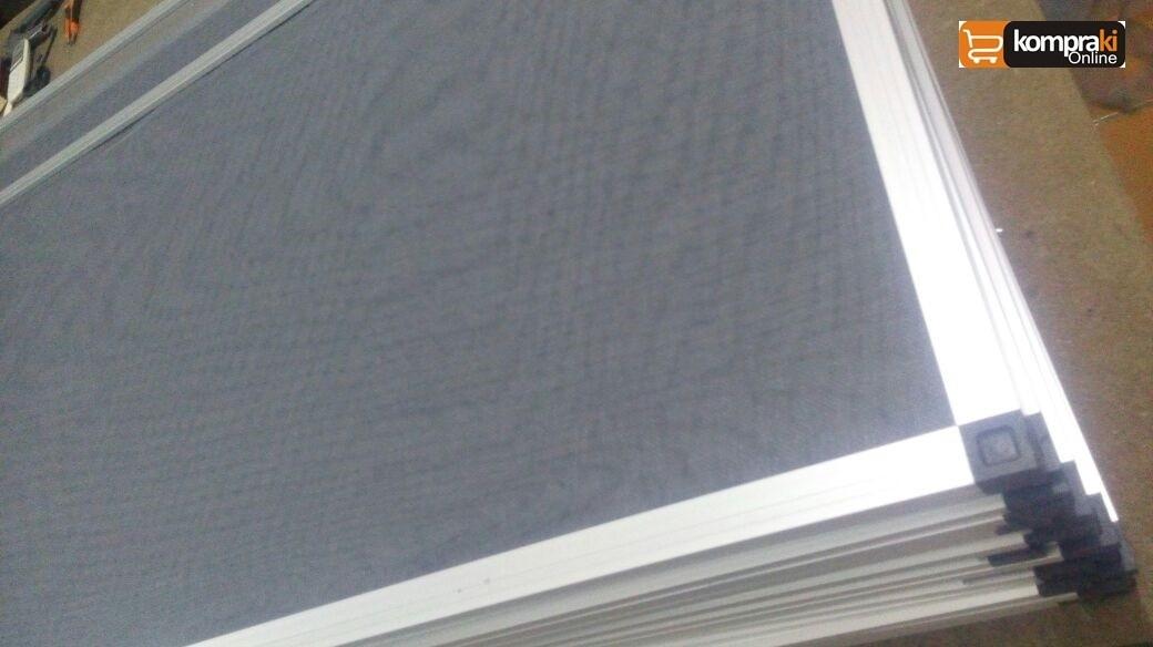 Tela mosquiteira fibra de vidro perfil alum nio remov vel - Tela mosquitera aluminio ...