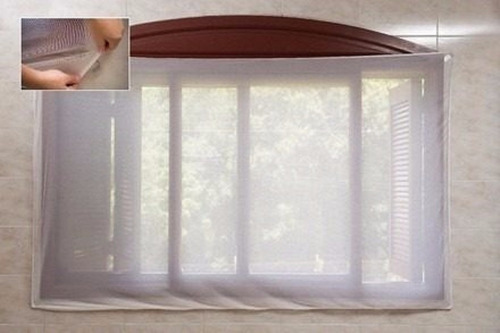 tela mosquiteira portas janelas vitrôs pernilongos 200x100cm