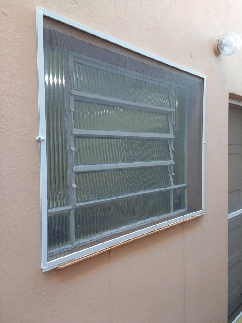 Tela mosquiteira remov vel com perfil de aluminio r 20 - Tela mosquitera aluminio ...