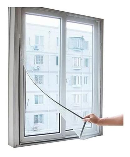 tela mosquiteiro poliéster porta janela velcro 1,23x1,65 m