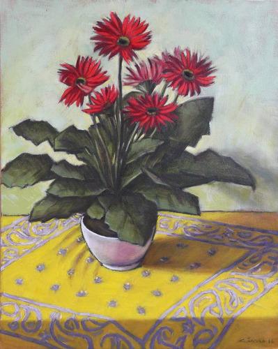 tela nat pintura óleo