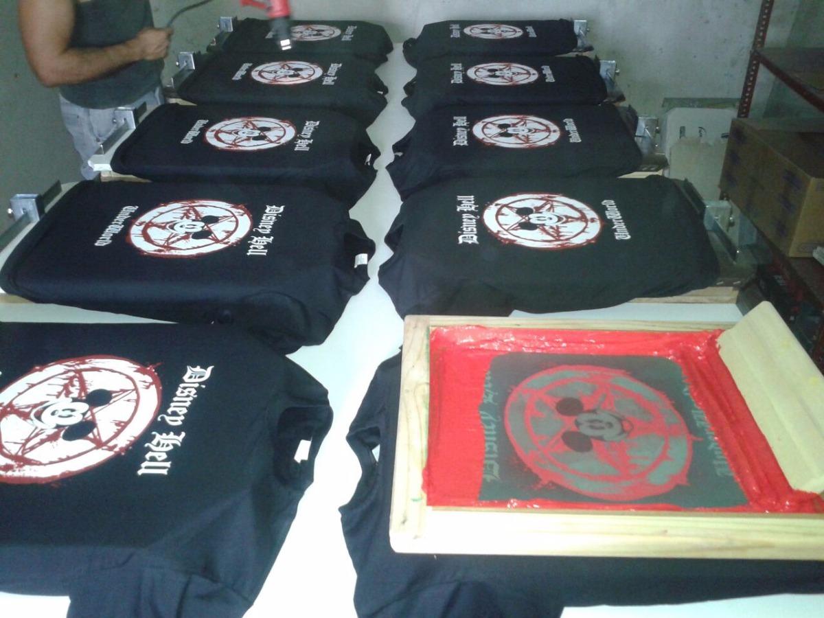 tela p camisetas serigrafia  kit tinta pote+tela+rodo impres. Carregando  zoom. 3788718e3bfe4