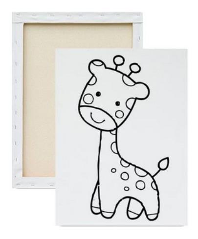 Tela Painel Pintura Desenho Infantil Vingadores Dora 20x30 R 16
