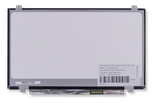 tela para notebook 14.0 led slim ltn140at28 n140bge-l42 m140nwr1 b140xw03 - marca bringit