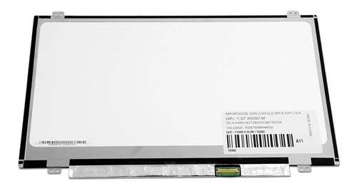 tela para notebook lenovo g40-70 / 80ga000gbr 14  hd marca bringit