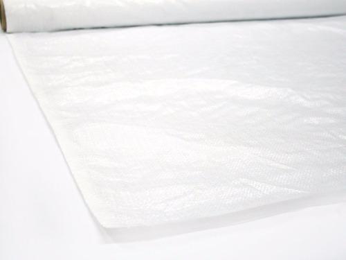 tela pasacalle blanca 1mt x 25 m- super oferta!