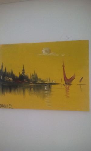 tela pintura óleo