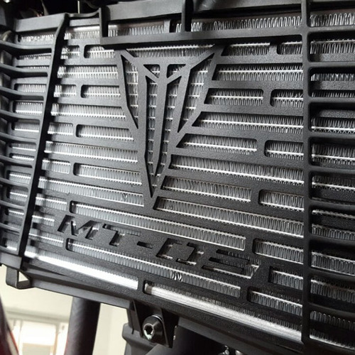tela protetor de radiador aço carbono mt 03 mt-03 mt03