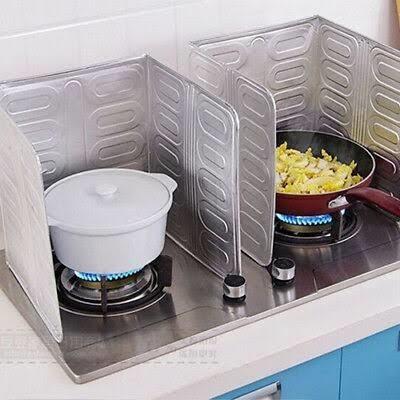 tela protetora contra respingo de óleo de panela de cozinha